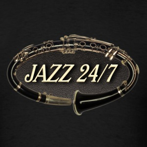 jazz 24 7 - Men's T-Shirt