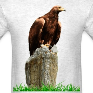 Eagle in trunk - Men's T-Shirt