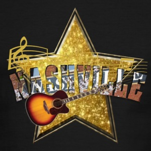 Nashville Music Star Men's T-Shirts - Men's Ringer T-Shirt