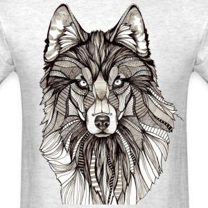 Wolf Abstract - Men's T-Shirt