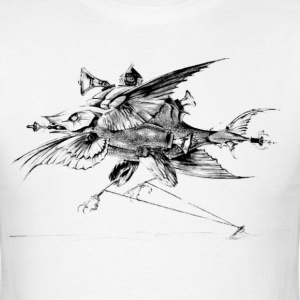 Surreal fish - Men's T-Shirt