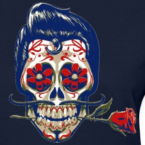 Mexican skull and rose - Women's T-Shirt