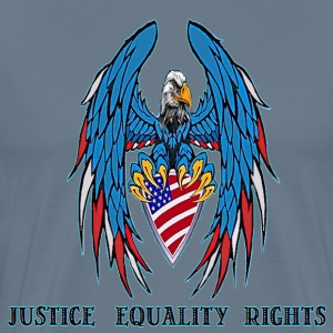 Justice Equality Rights - Men's Premium T-Shirt