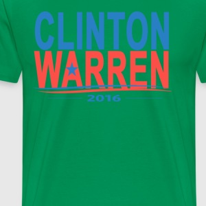 hillary_clinton_elizabeth_warren_2016_ - Men's Premium T-Shirt