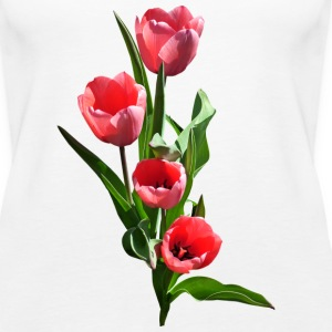 Tulip Family Tanks - Women's Premium Tank Top