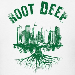 Root deep urban green T-Shirts - Men's T-Shirt