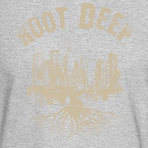 Root deep urban beige Long Sleeve Shirts - Men's Long Sleeve T-Shirt