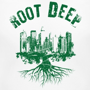 Root deep urban green Women's T-Shirts - Women's Maternity T-Shirt