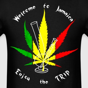 Welcome To Jamaica T-Shirts - Men's T-Shirt