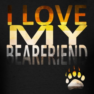 I Love My Bear T-Shirts - Men's T-Shirt