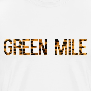 Green Mile Leopard Print Tee - Men's Premium T-Shirt