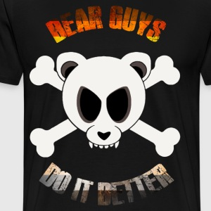 Bears Do It Better T-Shirts - Men's Premium T-Shirt