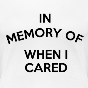 In memory of... Women's T-Shirts - Women's Premium T-Shirt