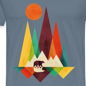 Proud Mountain - Men's Premium T-Shirt