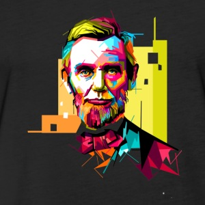 abraham lincoln - Fitted Cotton/Poly T-Shirt by Next Level