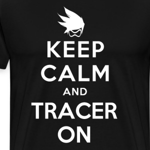 Keep Calm and Tracer On - Men's Premium T-Shirt
