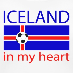 Iceland in my heart Women's T-Shirts - Women's Maternity T-Shirt