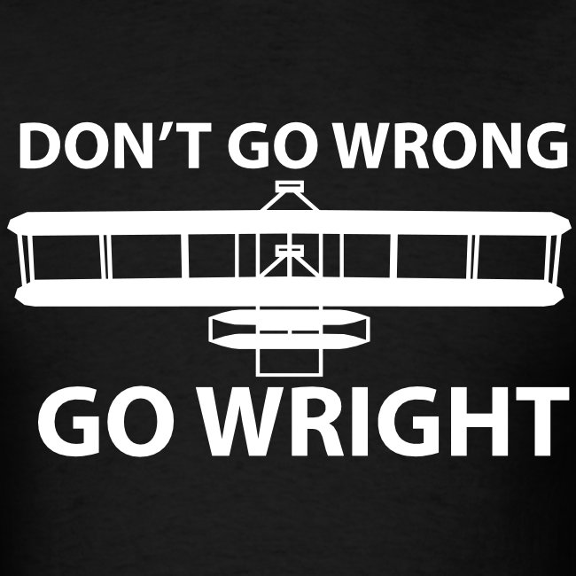 Don't go Wrong, Go Wright
