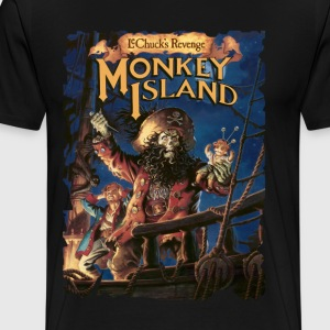 Monkey Island 2 - Men's Premium T-Shirt