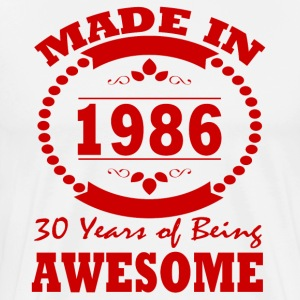 MADE IN 1986 - Men's Premium T-Shirt