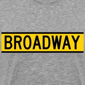 NYC Broadway Sign T-Shirts - Men's Premium T-Shirt