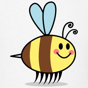 Sweet Bee Cartoon T-Shirts - Men's T-Shirt