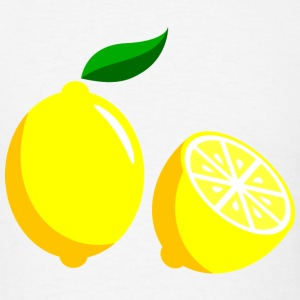 Lemon Sliced Design T-Shirts - Men's T-Shirt