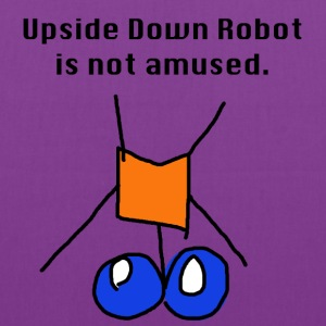 Upside Down Robot - Tote Bag