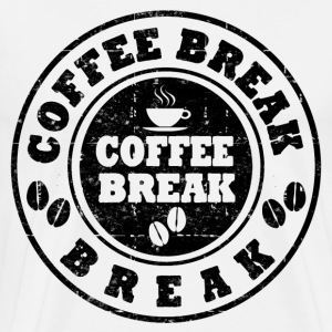 COFFEE BREAK - Men's Premium T-Shirt
