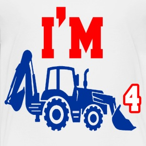 I'M FOUR YEARS OLD - Kids' Premium T-Shirt