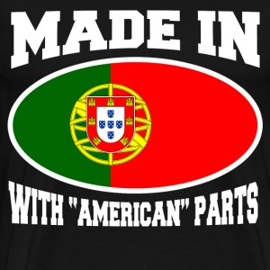 MADE IN PORTUGAL  WITH AMERICAN PARTS - Men's Premium T-Shirt