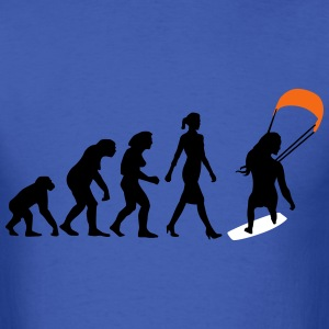 evolution_kite_surfing_woman_062016c_3c T-Shirts - Men's T-Shirt