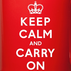 Keep Calm and Carry On Mug - Full Color Mug