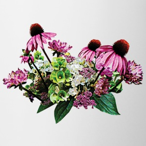 Bouquet of Coneflowers Mugs & Drinkware - Coffee/Tea Mug