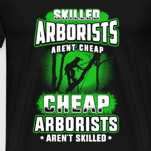 Skilled Arborists Shirt - Men's Premium T-Shirt