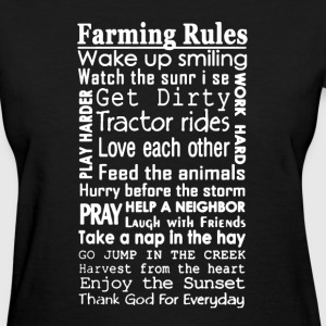 Farmer Rules Shirt - Women's T-Shirt