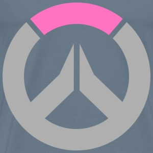 Overwatch Logo Zarya Colors Men's T-Shirt - Men's Premium T-Shirt