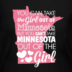 Minnesota Girl Shirt - Women's Long Sleeve Jersey T-Shirt