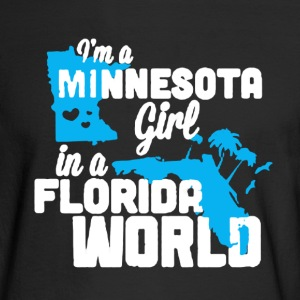 Minnesota Girl Shirt - Men's Long Sleeve T-Shirt