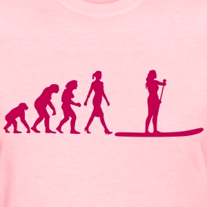 evolution_stand_up_paddling_062016a_1c Women's T-Shirts - Women's T-Shirt