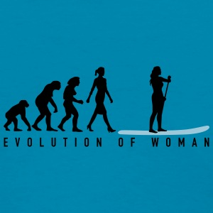 evolution_stand_up_paddling_062016b_2c Women's T-Shirts - Women's T-Shirt