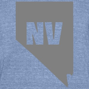 Nevada t-shirt - Unisex Tri-Blend T-Shirt by American Apparel