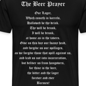 The Beer Prayer T-Shirts - Men's Premium T-Shirt