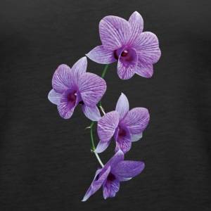 Cascade of Purple Orchids Tanks - Women's Premium Tank Top