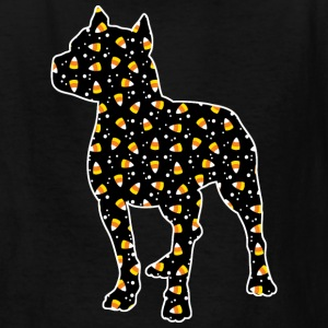 Halloween Pitbull Kids' Shirts - Kids' T-Shirt