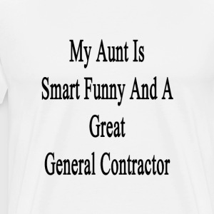 my_aunt_is_smart_funny_and_a_great_gener T-Shirts - Men's Premium T-Shirt