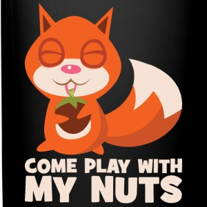 Come Play With My Nuts (Squirrel) Mugs & Drinkware - Full Color Mug