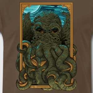 Answering the Call of Cthulhu - Men's Premium T-Shirt