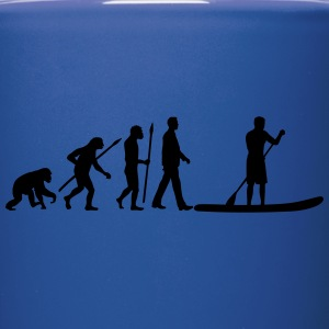 evolution_stand_up_paddling_man_062016b_ Mugs & Drinkware - Full Color Mug