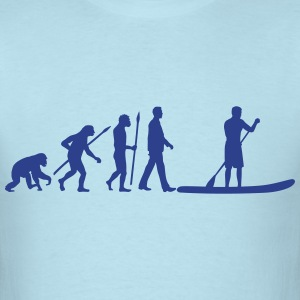 evolution_stand_up_paddling_man_062016b_ T-Shirts - Men's T-Shirt